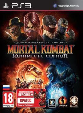 Mortal kombat 9: komplete edition (russound) ps3 » скачать игры.